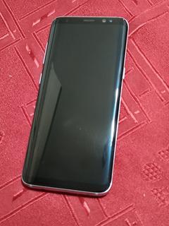 Samsung S8 Con Auriculares Y Cargador (leer Desc)
