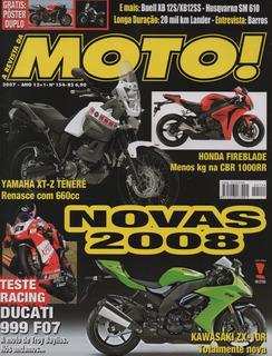 Moto! N°154 Ducati 999 F07 Husqvarna Sm 610 Buell Xb12s Ss