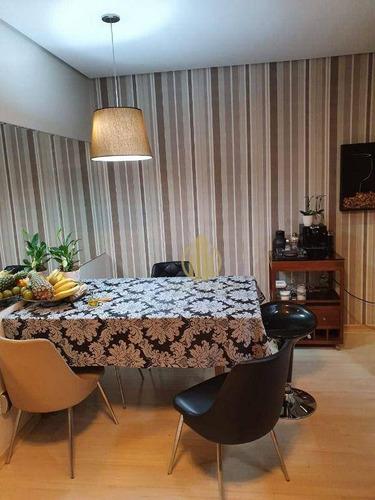 Imagem 1 de 15 de Apartamento Com 2 Dormitórios À Venda, 67 M² Por R$ 280.000 - Jardim Palma Travassos - Ribeirão Preto/sp - Ap1691