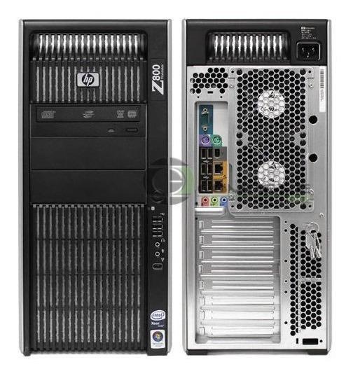 Workstation Hp Z800 2x Xeon E5620 24gb + K2000