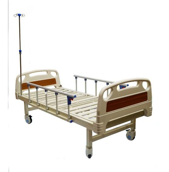 Cama Hospitalaria De Lujo Con Barandales + Colchon + Envio