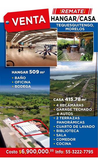 Cessna 182,hangar Y Casa Preciosos En Tequesquitengo