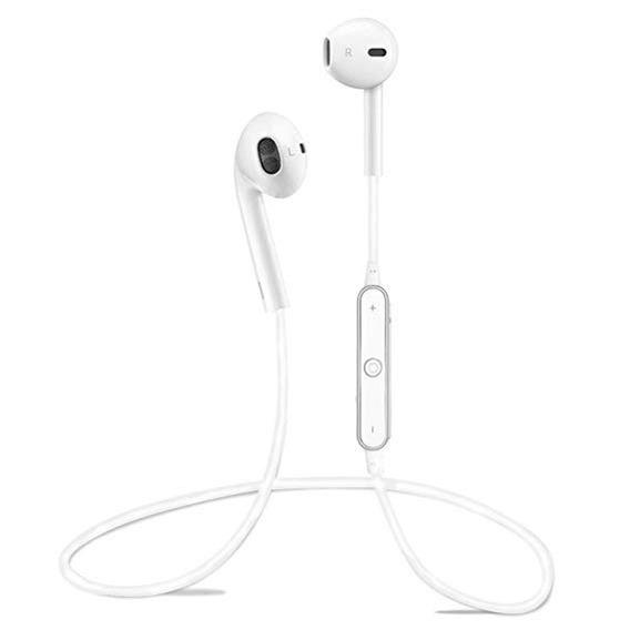 Fone De Ouvido Bluetooth S6 Branco