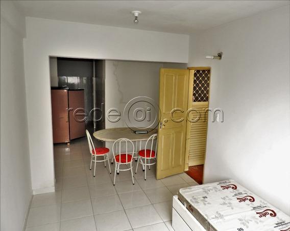 Quitinete Com 1 Quarto, Sala, Cozinha E Banheiro - Sem Garagem - Rua 4 Centro - Goiânia - Sa00005 - 4717516