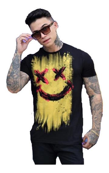 Camiseta Masculina Estampas Diversas