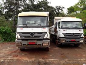 Mercedes-bens 2831 6x4 Ano 2013/2013 Caçamba Rossetti
