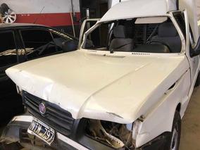 Fiat Fiorino Fire Mpi 8v 2014 Chocado Pasarueda Derecho