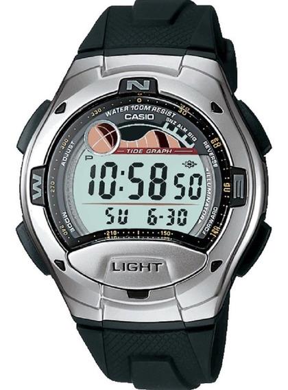 Relógio Casio W-753-1avcb Bateria Dura 10 Anos Original