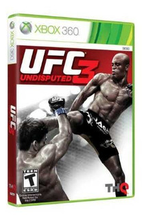 Ufc Undisputed 3 Para Xbox 360 Original Sellado Amazing