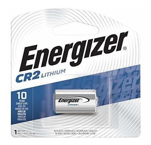 Imagen 1 de 8 de Energizer Cr2 Baterias 3v Litio, (1 Bateria)