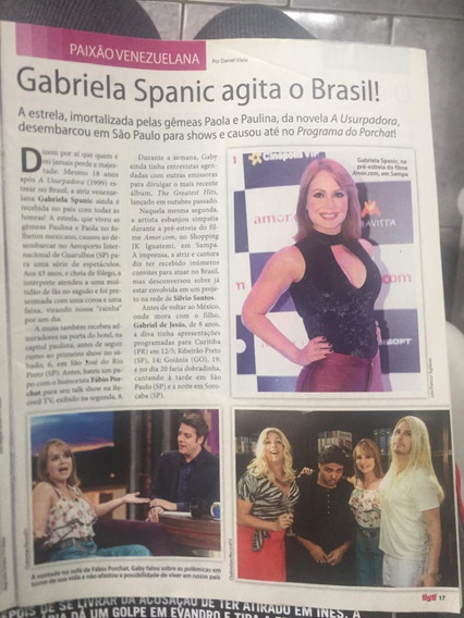 Material De Revistas Gaby Spanic