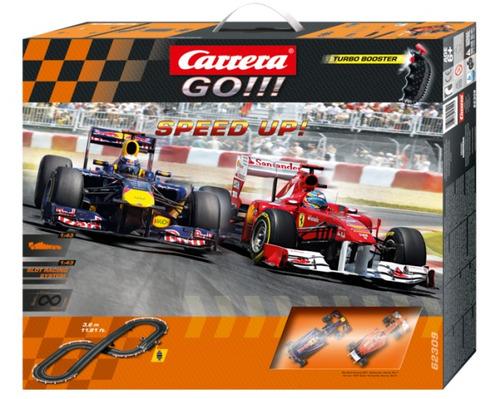 Pista Scalextric Carrera Go - Speed Up - Formula 1 Original