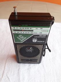 Radio Portátil Am/fm Antigo