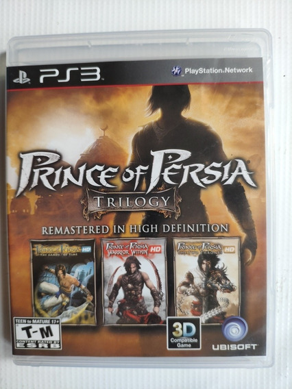 Prince Of Pérsia Ps3 Trilogy 3x1 Midia Física Semi Novo
