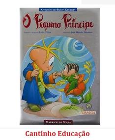 O Pequeno Príncipe Turma Da Monica Clássicos Para Sempre