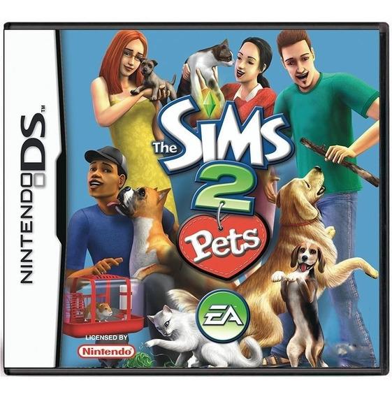 The Sims 2 Pets Ds Mídia Física Pronta Entrega