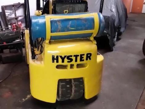Empilhadeira Hyster Motor De Opala 4cilindros Torre De 4mts
