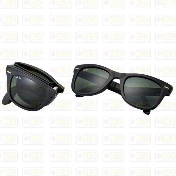 Gafas De Sol Rayban Wayfarer Folding Rb4105 Originales