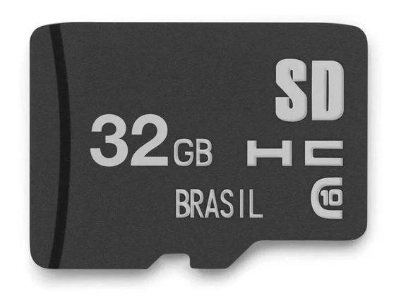 Cartao De Memoria Classe 10 32gb Multilaser