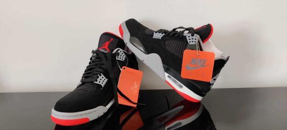 Nike Jordan 4 Bred Ds Talle 9 Us