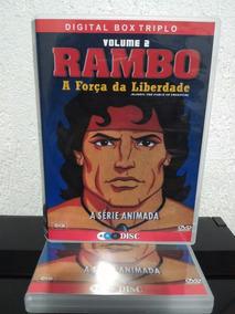 Dvd Rambo Desenho Animado Força Da Liberdade