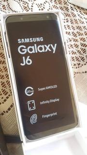 Samsung Galaxy J6 2018 Dorado 3gb 32gb En Caja Y Accesorios