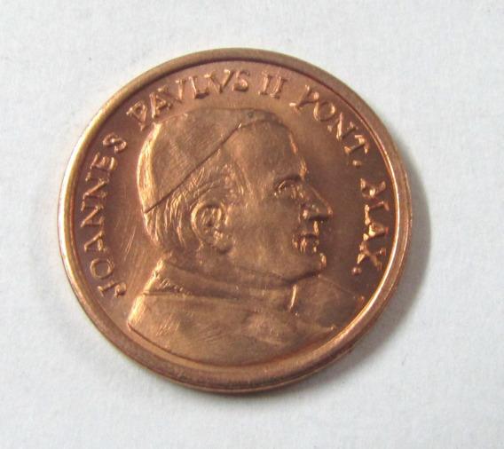 Vaticano 2000 2 Centavos Ensayo Prueba Papa Juan Pablo I I