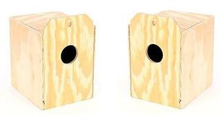 Paquete De 2 Productos De Fabricacion De Madera Wood Parakee