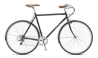 Vivo Legato 8 Velocidades 700 C Bigote Bar City Bicicleta