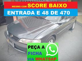 Chevrolet Vectra Com Direção Financiamento Com Score Baixo