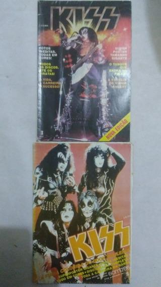 2 Revistas Poster Kiss Somtres Editora Três Frete Grátis