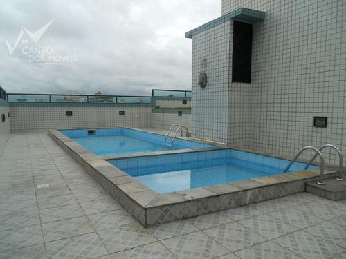 Imagem 1 de 30 de Apartamento Com 2 Dorms, Canto Do Forte, Praia Grande - R$ 350.000,00, 92m² - Codigo: 10 - V10