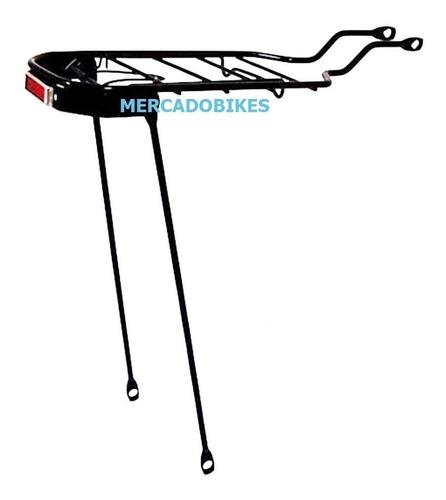 Portaequipaje - Portapaquete - Acero Con Reflector Rodado 26