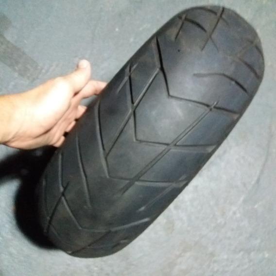 Pneu Traseiro Pirelli Scorpion 180/55-17 Usado