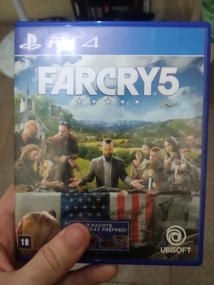 Jogo De Ps4 Far Cry 5 Mídia Física