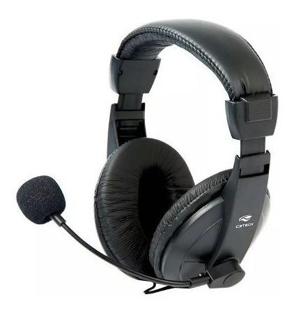 Fone Headset Gamer Pc Microfone C3tech
