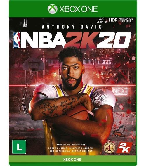 Jogo Nba 2k20 - Xbox One ( Novo, Lacrado, Mídia Física)