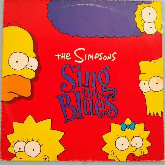 Lp The Simpsons Sing The Blues 1991
