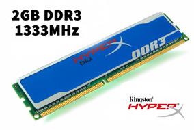 Kit Memória Ram Ddr3 2gb 2x2 Hiperx Kingston1333mhz