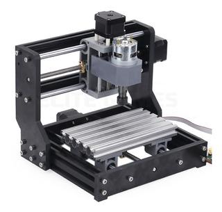 Mini Router Cnc Fresadora Grabado Pcb Madera 3018 Kit Diy