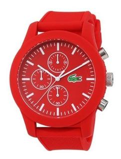 Reloj Lacoste 2010825 Hombre Silicona Rojo - Ad
