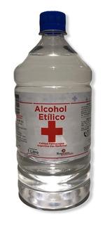 Alcohol Etilico 96% X 1 L Certificado Uso Medicinal Envios