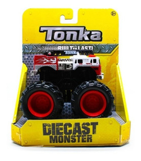 Tonka Diecast Monster A Escala Miniatura De Metal.