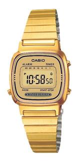 Reloj Casio Retro Vintage La670wga9df Mujer | Agente Oficial