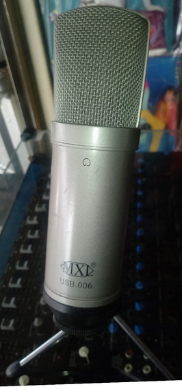 Microfone Condensador Mxl Usb 006