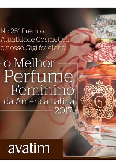 Kit Gigi 1 Perfume 1 Oleo Corporal 2 Sabonetes Barra