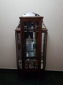 Cristaleira Antiga Linda - Peça Fina