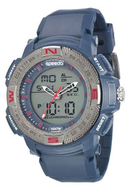 Relógio Speedo Masculino Azul 81107g0evnp1