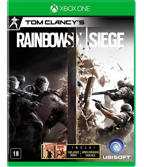 Tom Clancys Rainbow Six Siege Xbox One Disco Físico Dublado