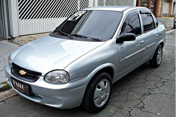 Chevrolet Corsa Sed Class.spirit 1.0 Flex Prata 2007